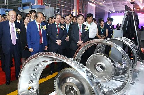 Khánh thành nhà máy sản xuất động cơ máy bay đầu tiên tại Việt Nam