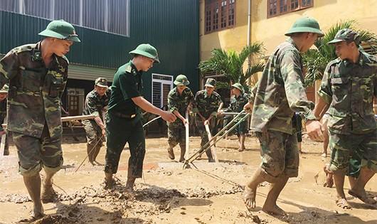 Nghệ An đề nghị Chính phủ hỗ trợ 350,74 tỷ đồng để giúp khắc phục hậu quả mưa lũ