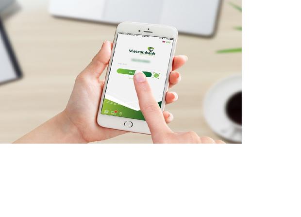 Vietcombank điều chỉnh hạn mức giao dịch qua phương thức xác thực bằng vân tay và khuôn mặt