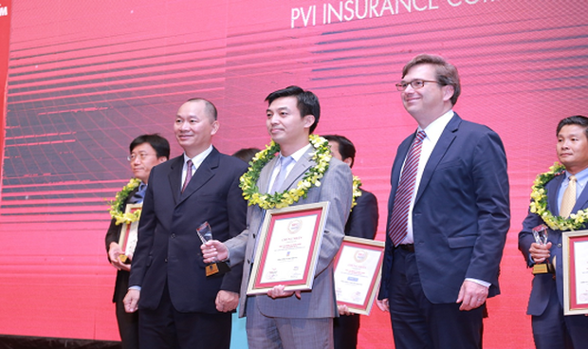 Bảo hiểm PVI được vinh danh trong Top 10 công ty Bảo hiểm uy tín năm 2018