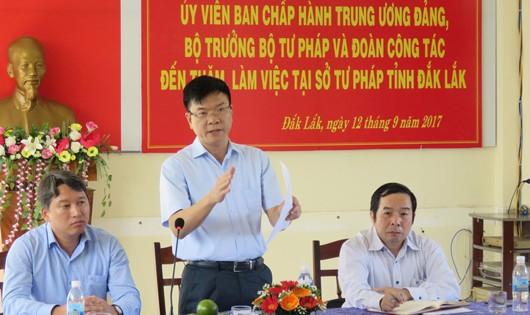Bộ trưởng lạc quan trước những điểm sáng của Tư pháp Đắk Lắk