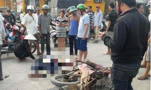 Xe ben va xe máy, 1 người tử vong tại QL 51