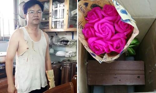 Anh chồng Quảng Ninh tặng sinh nhật vợ... hai viên gạch