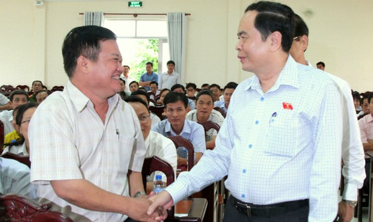 Chủ tịch UBTƯMTTQ Việt Nam: Tích cực vận động, tuyên truyền bà con tránh để kẻ xấu lợi dụng