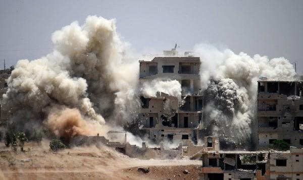 Nga không kích Syria