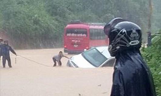 5 người chết, 3 người mất tích do mưa lũ miền núi phía Bắc