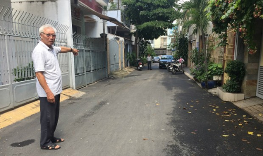 Cả khu phố tự bỏ tiền làm đường