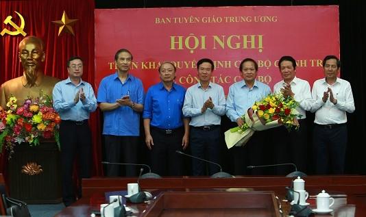 Ông Trương Minh Tuấn làm Phó trưởng Ban Tuyên giáo Trung ương