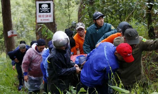 Nam du khách nước ngoài tử vong tại thác nước ở Đà Lạt