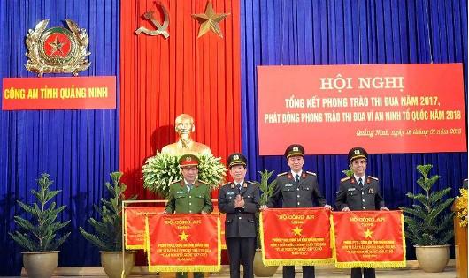 Công an Quảng Ninh liên tục dẫn đầu trong phong trào thi đua Vì an ninh Tổ quốc
