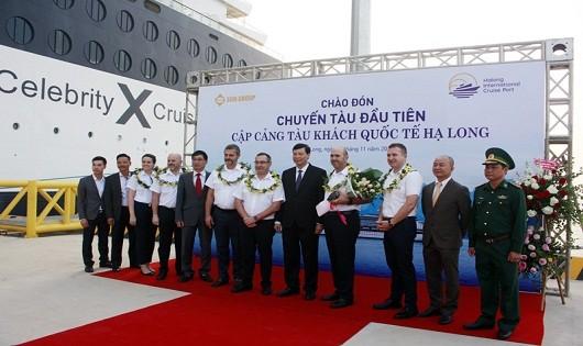 Quảng Ninh: Cảng tàu khách quốc tế Hạ Long đón chuyến tàu đầu tiên