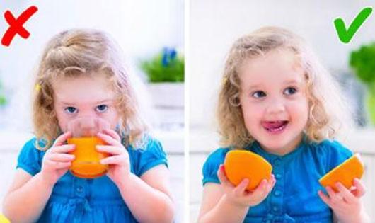 7 thực phẩm cha mẹ hay cho con ăn mà không ngờ chúng có hại cho sức khỏe