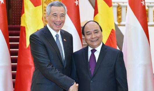 Thắt chặt và làm sâu sắc hơn nữa quan hệ Đối tác Chiến lược Việt Nam - Singapore