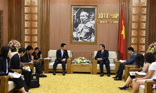 Thúc đẩy sự hợp tác giữa các cơ quan pháp luật và tư pháp Việt Nam – Nhật Bản