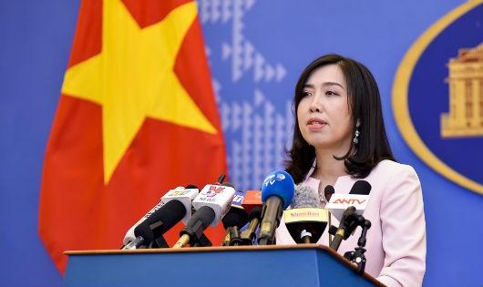 Yêu cầu Trung Quốc tôn trọng chủ quyền của Việt Nam đối với Hoàng Sa và Trường Sa