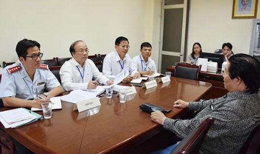 Lãnh đạo Bộ Tư pháp tiếp công dân tháng 8