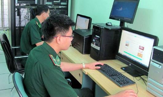 Thủ tục biên phòng điện tử được thực hiện 24/24 giờ