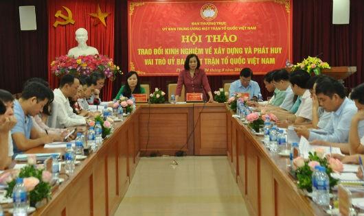 Lựa chọn Ủy viên Ủy ban MTTQ:  Không vì cơ cấu mà xem nhẹ tiêu chuẩn tài đức