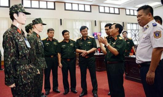 Bộ Tổng Tham mưu lấy ý kiến về mẫu quân phục dã chiến mới