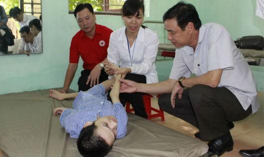 Triển khai Dự án chăm sóc sức khỏe đối với nạn nhân dioxin