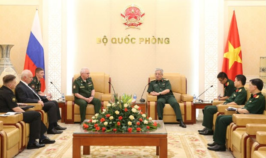 Đẩy mạnh hợp tác quốc phòng Việt Nam - Liên bang Nga