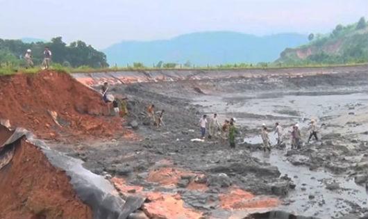 Vỡ hồ chứa chất thải Công ty cổ phần DAP số 2, dân được đền bù 24 tỷ đồng