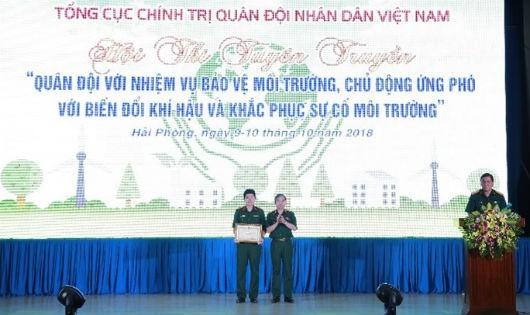 Bệnh viện TƯ Quân đội 108 đoạt giải Nhất cuộc thi bảo vệ môi trường