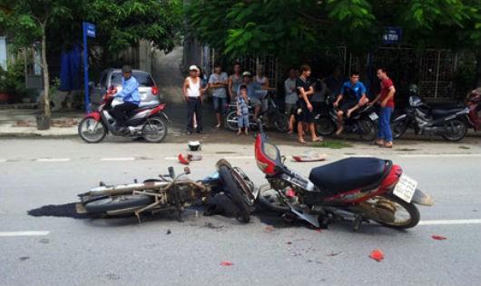 60% các vụ tai nạn giao thông ở Việt Nam là do xe máy