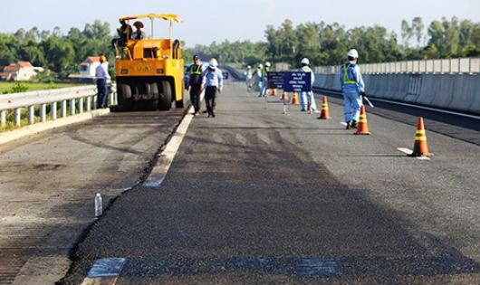 Cao tốc Đà Nẵng – Quảng Ngãi được sửa đúng thiết kế ban đầu