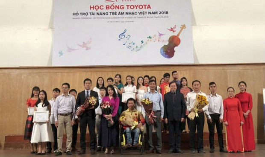 Nửa tỷ đồng dành tặng tài năng trẻ âm nhạc Việt Nam