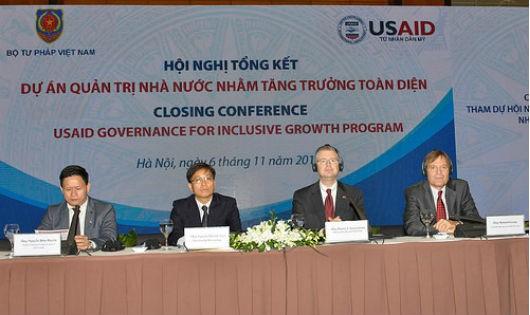 Dự án Quản trị Nhà nước nhằm tăng trưởng toàn diện: Đáp ứng  nhiều vấn đề ưu tiên của Việt Nam