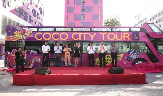 Đà Nẵng: Khai trương xe buýt hai tầng mui trần đầu tiên tại Việt Nam