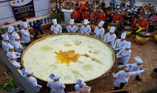 Đà Nẵng: Xác lập kỷ lục Bánh Xèo lớn nhất Việt Nam