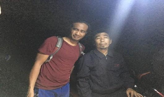 Bất ngờ phát hiện du khách lạc trong rừng Sơn Trà