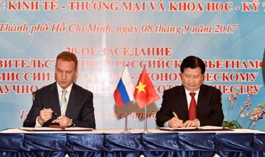 Việt Nam - Nga: Hướng tới kim ngạch 10 tỷ USD