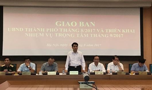 Hà Nội  triển khai nhiệm vụ 2 tháng cuối năm 2017
