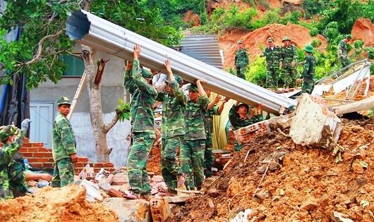 Quân đội chủ động  cứu hộ, cứu nạn mùa mưa lũ