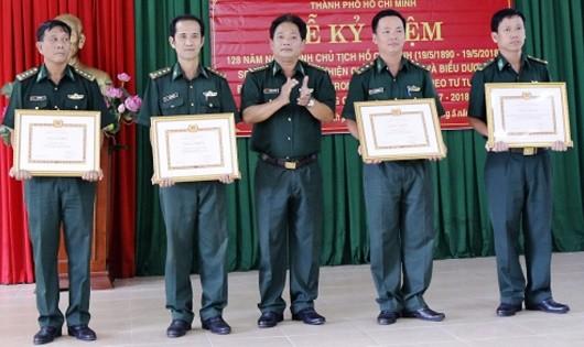Học theo lời Bác, Bộ đội Biên phòng TP HCM lập thành tích xuất sắc