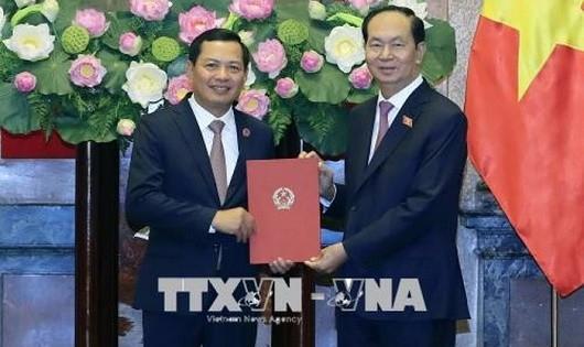 Chủ tịch nước trao Quyết định bổ nhiệm Phó Chánh án TANDTC