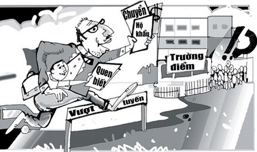 Bỏ hàng nghìn USD 'chạy trường' cho con ở Hà Nội