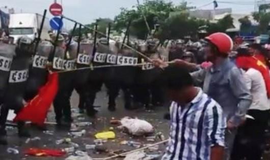 Truy bắt đối tượng cầm đầu, chủ mưu kích động và trực tiếp gây rối tại Bình Thuận