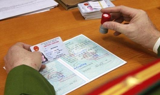 Thay đổi một số thông tin trên mẫu thẻ Căn cước công dân