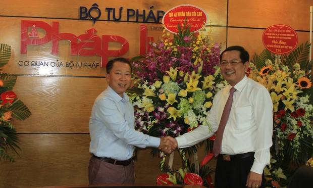 Phó Chánh án TAND tối cao: Báo Pháp luật Việt Nam có đóng góp tích cực cho công tác tư pháp