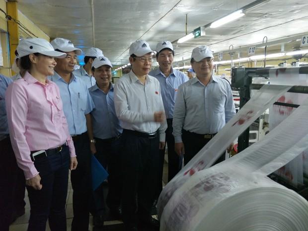 Phó Chủ tịch Quốc hội làm việc với Công ty CP Nhựa Hưng Yên