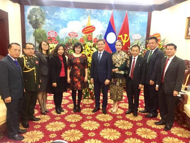 Bộ Tư pháp Việt Nam chúc mừng 42 năm Quốc khánh nước CHDCND Lào