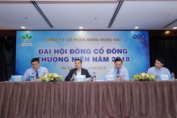 Nông dược HAI thông qua kế hoạch doanh thu 1.850 tỷ đồng năm 2018