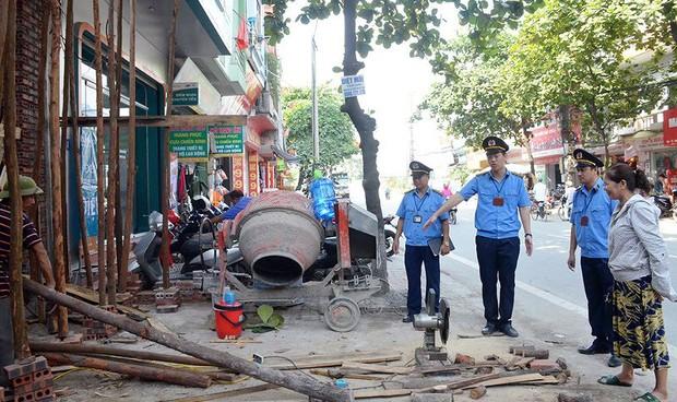Hà Nội được thí điểm lập Đội Quản lý trật tự xây dựng đô thị thuộc UBND quận