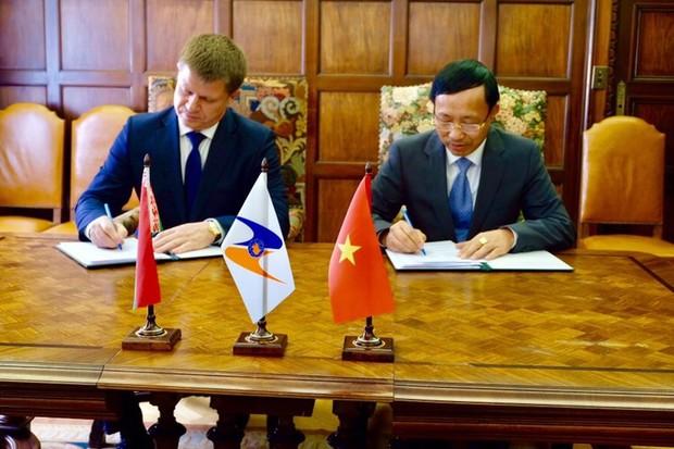 Việt Nam – EAEU ký kết Nghị định thư trao đổi  thông tin điện tử hải quan