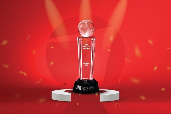 Maritime Bank nhận giải thưởng Thẻ tín dụng có ưu đãi tốt nhất cho khách hàng năm 2018