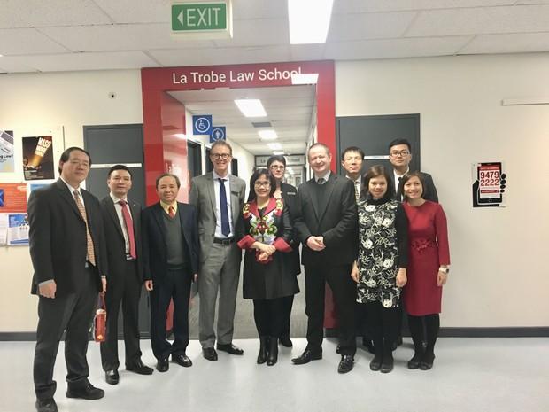 Thứ trưởng Đặng Hoàng Oanh: Bộ Tư pháp sẽ tiếp tục cử nhiều cán bộ đi học tại Australia
